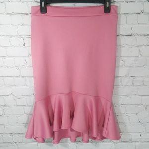 Sensational Collection Pink Assymetrical Skirt LRG
